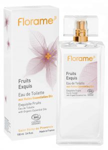 EAU de Toilette Fruits 100ml.