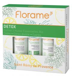 Detox box with 3 æteriske olier 10ml