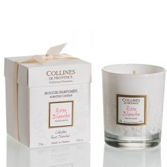 Candle White Rose 250 g.